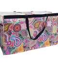 Two Lumps of Sugar Trunkster Trunk Tote-Paisley & Medallion