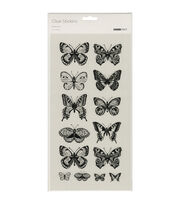 Kaisercraft Butterflies Clear Stickers, , hi-res