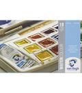Van Gogh Watercolour 18 Pan W/2 Tubes Plastic Pocket Box