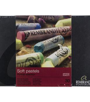 Rembrandt 30 pk Full Stick Extra Fine Soft Pastels-Portrait Selection