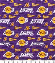 LA Lakers Cotton Fabric-Pennant, , hi-res