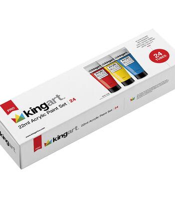 KINGART 22ml Paint Set 24/Pkg-Acrylic
