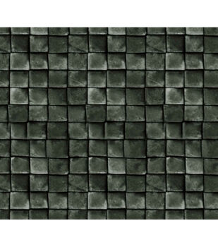 Keepsake Calico Cotton Fabric-Black Tiles