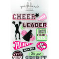 Park Lane Paperie 11 pk Stickers-Cheerleader