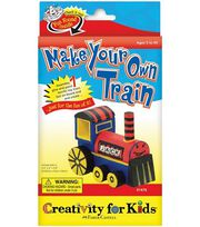 Creativity for Kids Kit-Make Your Own Train, , hi-res