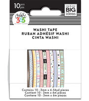 The Happy Planner Mini Washi Tape-Pastel, , hi-res