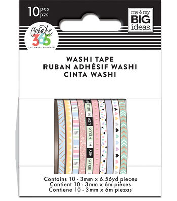 The Happy Planner Mini Washi Tape-Pastel