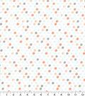 Nursery Cotton Fabric 43\u0027\u0027-Woodland Mini Dots