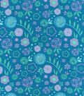 Snuggle Flannel Fabric -Bloom Floral