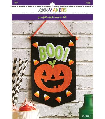 Little Makers Flet Banner Kit-Pumpkin