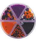 Wilton 7.2oz Six-Cell Halloween Sprinkles Mix