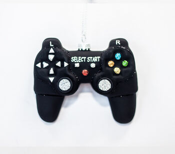 Handmade Holiday Christmas Video Game Controller Ornament