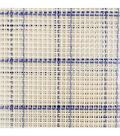 Zweigart 60\u0027\u0027x10 yds Mesh Rug Canvas Roll-Blue Checked