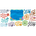 TREND enterprises, Inc. Sea Buddies 0-120 Bulletin Board Set, 2 Sets