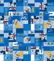 "Disney Mickey & Friends Flannel Fabric 42""-True Pals Patch, , hi-res"