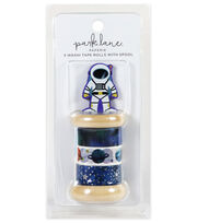 Park Lane Paperie 3 pk Washi Tape Rolls with Spool-Astronaut, , hi-res