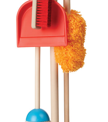 Melissa & Doug Play House Dust Sweep Mop