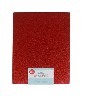 Glitter Sticky Back 9x12'' Foam Value Pack