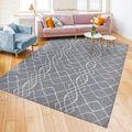 Ruggable Washable 8x10\u0027 Area Rug-Amara Grey