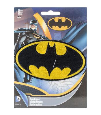 "DC Comics Batman 4""X2.25"" Iron-On Applique-Logo"