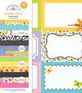 Doodlebug Paper Plus Value Pack-Floral Assortment