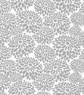 Quilter\u0027s Showcase Fabric -Light Gray Mum Floral