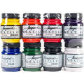 Jacquard 8 pk Textile Fabric Paint Bottles-Primary & Secondary