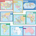 Teacher Created Resources Map Charts Set Set of 9