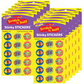 Excellence Expressions-Chocolate Stinky Stickers 12 Packs
