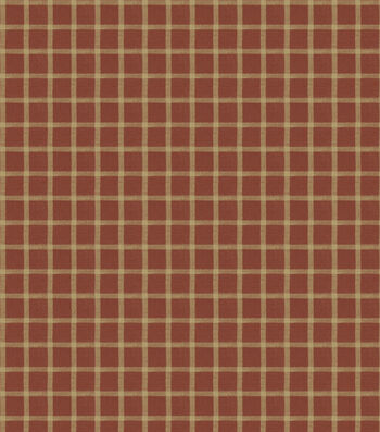"French General Multi-Purpose Decor Fabric 54""-Gladstone/Rural Red"