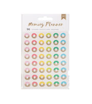American Crafts 96 Pack Memory Planner Reinforce Stickers, , hi-res