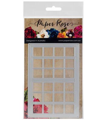 Paper Rose 3.74''x5.31'' Metal Die-French Door Background