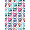 Trend Enterprises Inc. Winter Joys superSpots Stickers, 800 Per Pack