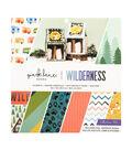 Park Lane Paperie 12\u0027\u0027x12\u0027\u0027 Printed Cardstock Collection Pad-Wilderness