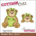 CottageCutz Die Romper Bear