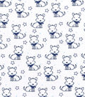 Nursery Cotton Fabric -Sketched Doggie