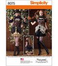 Simplicity Misses\u0027 Steampunk Costumes-6-8-10-12-14