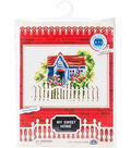 RTO Counted Cross Stitch Kit with Plywood Form-My Sweet Home I