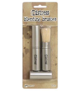 Tim Holtz Distress Retractable Blending Brush 2/Pkg