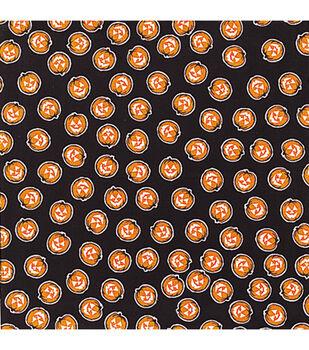 Halloween Bandana 22''x22''-Allover Glow Pumpkins