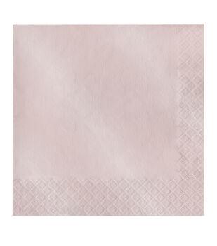 20ct Large Napkin-Pearlized Blush