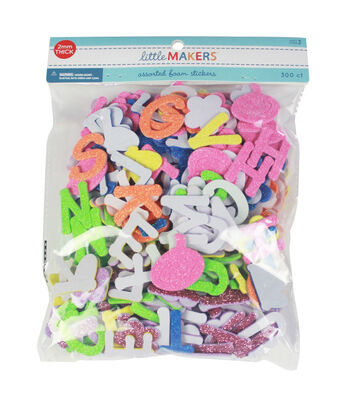 Little Makers Foam Alphabet Glitter-Brights