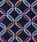 Anti-Pill Fleece Fabric 59\u0022-Bright Chain Link
