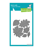 Lawn Fawn Lawn Cuts Custom Craft Die -Stitched Leaves, , hi-res