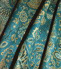 Waverly Upholstery Fabric 54\u0027\u0027-Lagoon Jewel Tower