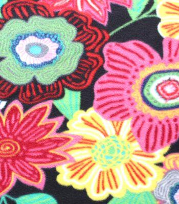 "Anti-Pill Fleece Fabric 59""-Marana Floral Brights"