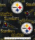Pittsburgh Steelers Fleece Fabric 58\u0027\u0027-Retro