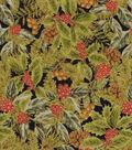 Christmas Cotton Fabric 44\u0022-Glitz & Pine