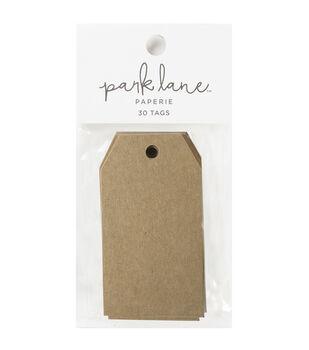 Park Lane 30 pk Tags-Kraft