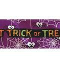Cascade Ribbon 2.5\u0022x20 yds-Trick or Treat, Spider & Web on Purple